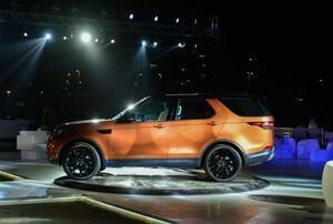 Euro Motors Jaguar Land Rover  Unveils the All-New Discovery in a spectacular exclusive event at Bahrain Bay