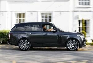 RISING TO THE OCCASION: SVO CREATES BESPOKE RANGE ROVER FOR ANTHONY JOSHUA MBE
