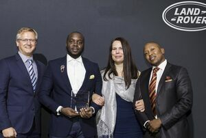 LAND ROVER¹S TOP SUB-SAHARAN PARTNERS RECOGNISED