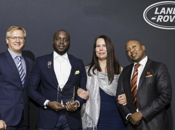 JAGUAR LAND ROVER¹S TOP SUB-SAHARAN PARTNERS RECOGNISED