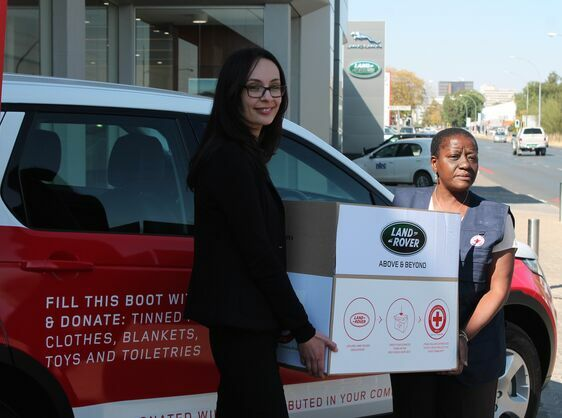 Hope Crosses Any Terrain with Land Rover and Namibia Red Cross