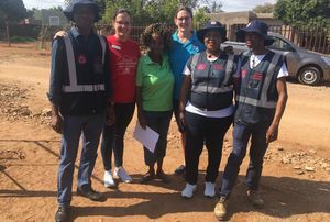 LAND ROVER AND RED CROSS BRING RELIEF TO CHILDREN