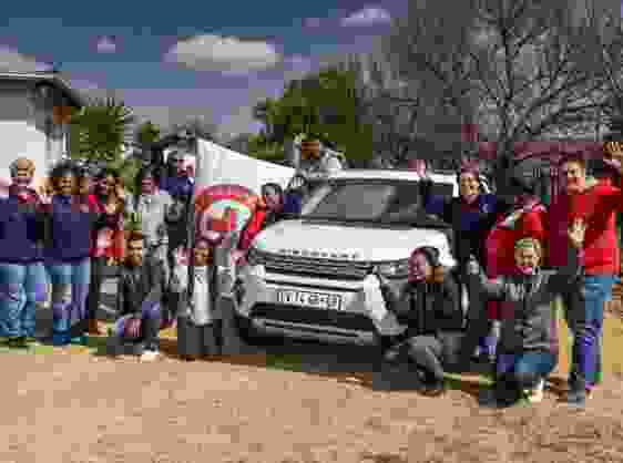 LAND ROVER GOES ABOVE AND BEYOND  WITH SOUTH AFRICAN RED CROSS