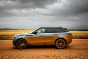 ​Our first drive of the Range Rover Velar