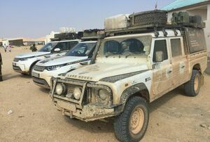 Land Rover supported Extreme East Expedition made it to Africa's most easterly point, Ras Xaafun in Puntland Somalia.