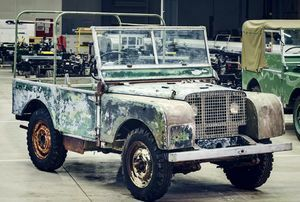 LAND ROVER'S 70TH ANNIVERSARY BEGINS WITH  RESTORATION OF 'MISSING' ORIGINAL 4X4