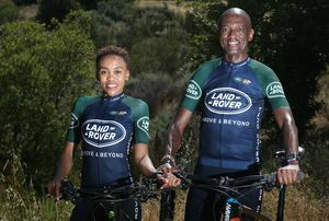​LAND ROVER CAPE EPIC TEAM SLEEK AND RUGGED ROVERS READY TO TAKE ON THE CHALLENGE