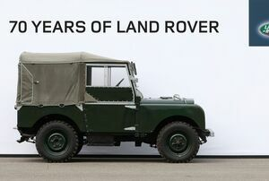70 YEARS OF LAND ROVER, ONE UNIQUE BROADCAST