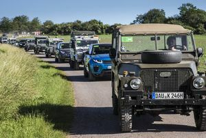 GERMANY SETS GUINNESS WORLD RECORD FOR LARGEST LAND ROVER PARADE