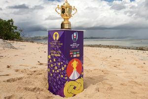 LAND ROVER IS WORLDWIDE PARTNER OF RUGBY WORLD CUP 2019TM AS THE TROPHY TOURS INDIA