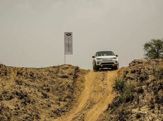'THE ABOVE & BEYOND TOUR' DEMONSTRATES LAND ROVER CAPABILITIES THAT ARE IDEAL FOR INDIAN CONDITIONS