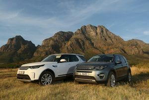 LAND ROVER MAKES TRAILS AT FNB WINES2WHALES MTB RACE