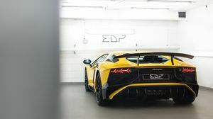 Aventador SV Giallo Orion