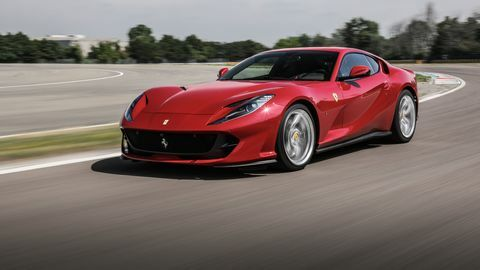 What's in a Name? The Ferrari 812 Superfast combines pedigree and technology