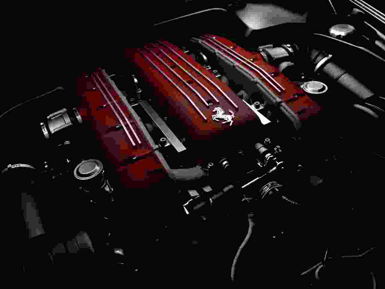 Information on cars - Ferrari engine