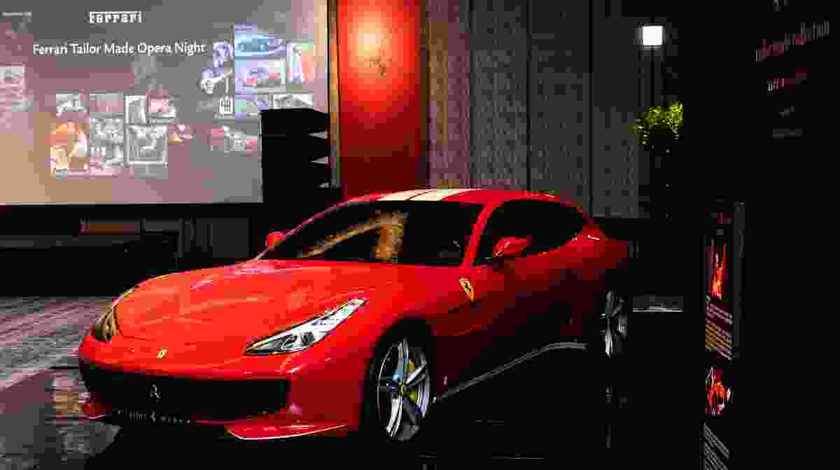 Ferrari hosted the customer event 'Tailor Made Night'