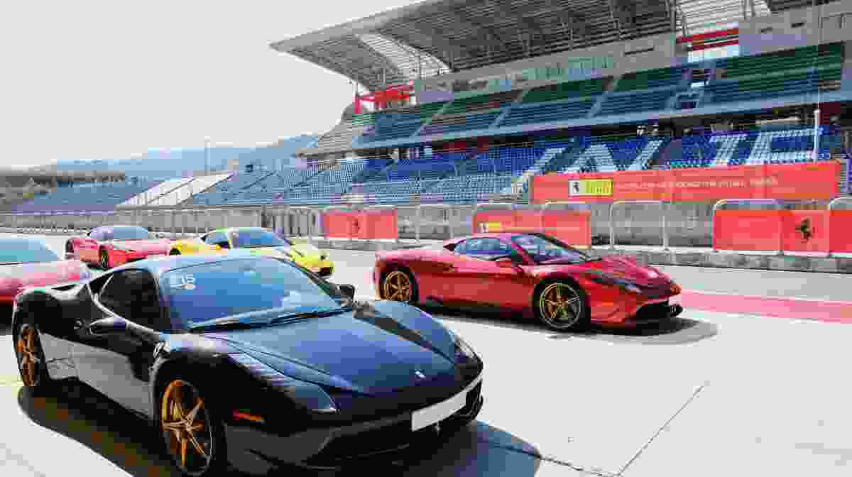 2018 2nd Pilota Ferrari Around the World Korea Ends in Great Success