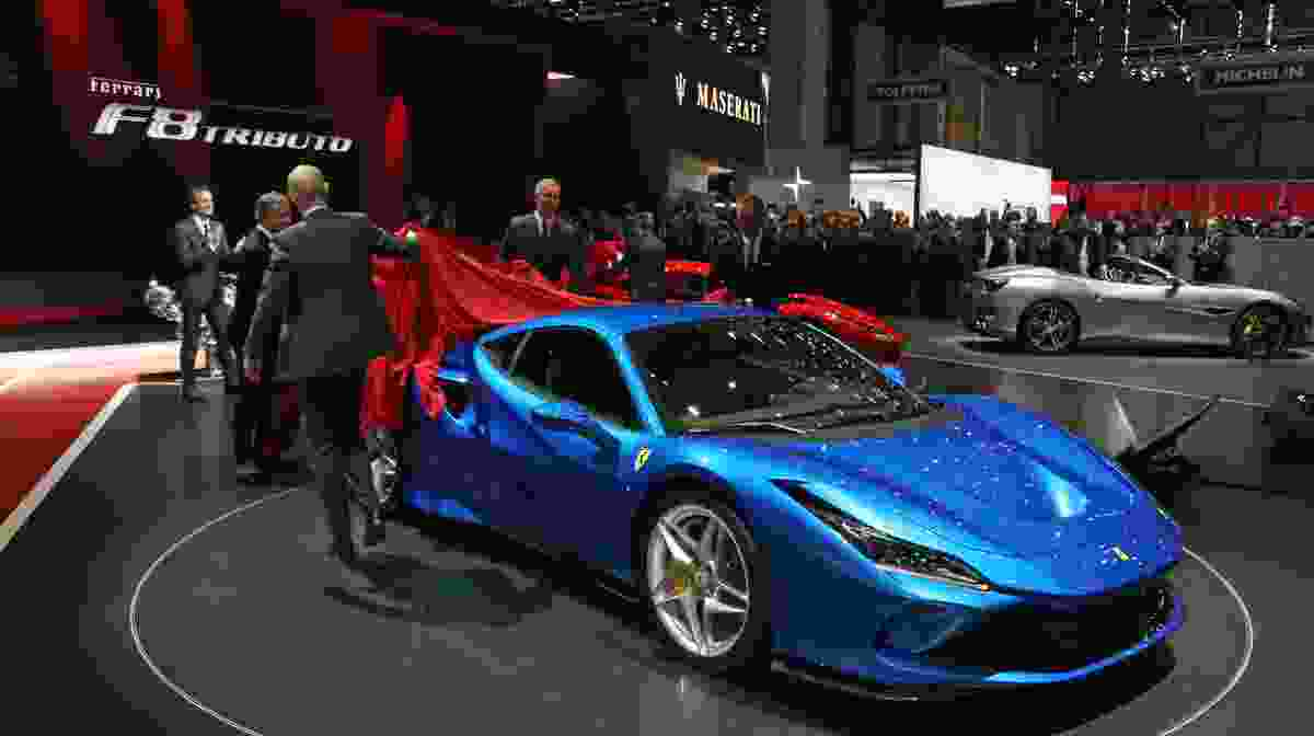 Ferrari F8 Tributo, a celebration of excellence  The mid-rear-engined two-seater berlinetta that pays homage to the most powerful V8 in Ferrari history