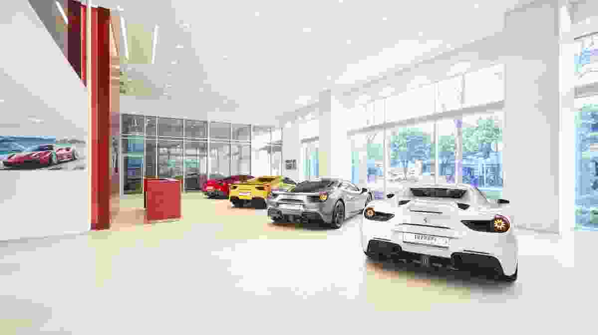 Ferrari expands its Ferrari Approved car showroom