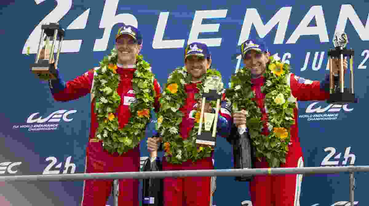 WEC – FERRARI TRIUMPHS IN THE 24 HOURS OF LE MANS