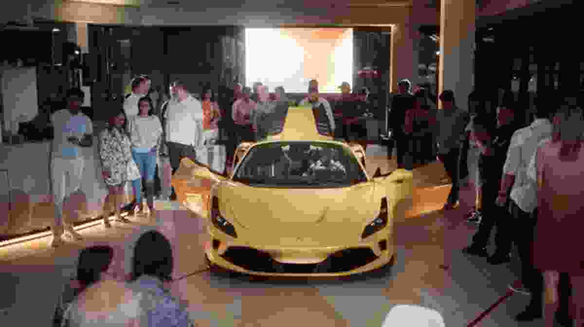 Ferrari F8 Spider Reveal at Cape Town Showroom
