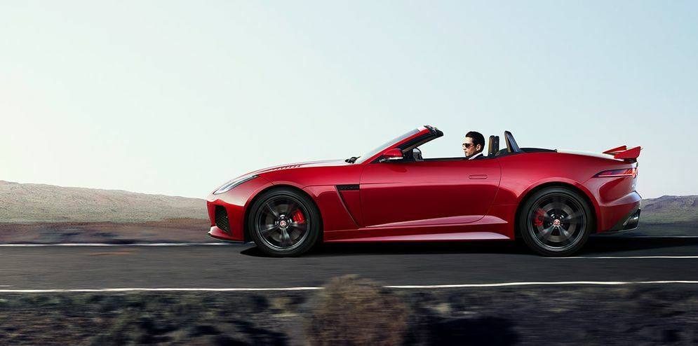 jaguar f type convertible roof